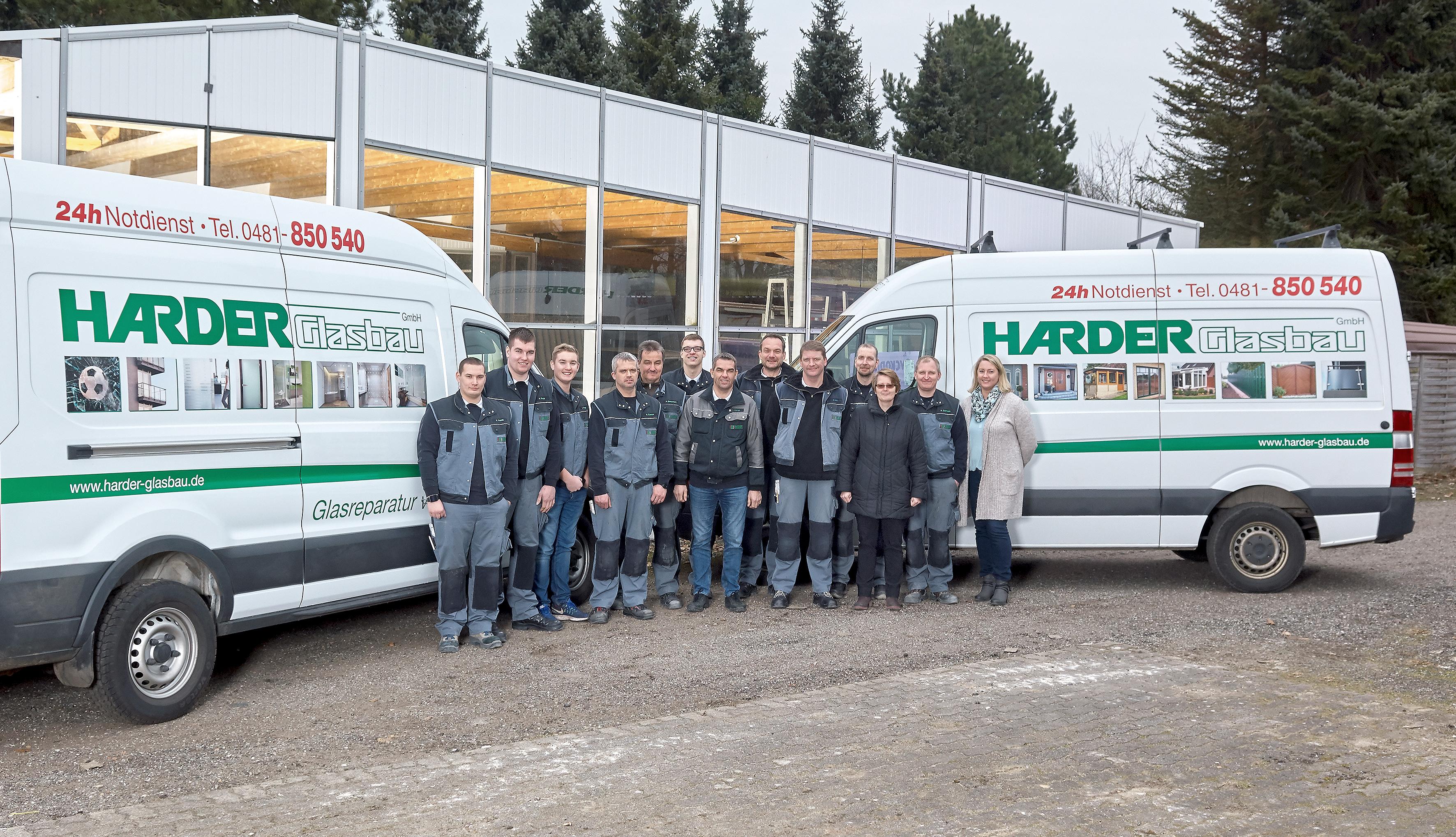 HARDER Glasbau - Über uns - Das Team